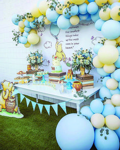 The Most Adorable Baby Shower Party Ideas To Inspire You Baby Shower Inspiration Baby Shower Yellow, Boy Baby Shower Themes, Baby Shower Fun, Baby Shower Gender Reveal, Shower Party, Baby Shower Parties, Baby Yellow, Baby Boy Birthday Themes, Baby Showers