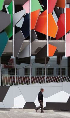 "Gollings + Hosking Photography, ""Pixel Building"" by studio505 architects, ALPOLIC Projects International"