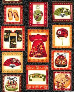 kimono inspired fabric