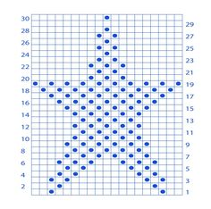 Monthly Stitch- Free Star Pattern - Yarnplaza.com | For knitting & crocheting