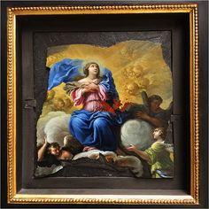 Assomption par Charles Poerson (1609-1667) - Musée des Beaux-Arts de Rouen