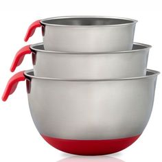 Stainless-Steel-Mixing-Bowls-with-Handle-Set-Of-3-Black-Green-red