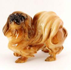 Pekingese Vintage Hutschenreuther Dog Figurine