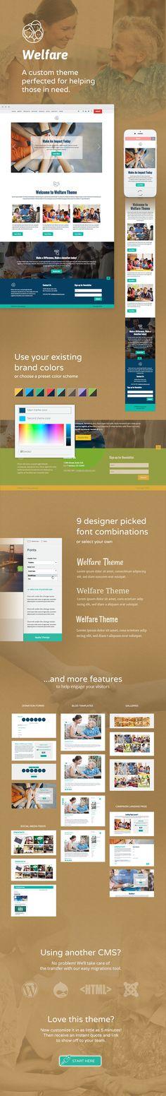 Use Morweb CMS to build a custom website for your nonprofit or association. Custom Website, Themes Themes, Human Services, Website Themes, Non Profit, Design, Design Comics