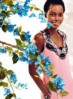 Publication: Harper's Bazaar UK May 2015 Model: Lupita Nyong'o Photographer: Alexi Lubomirski