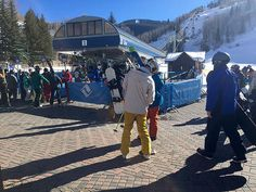 Ditch your car and don your winter wear. Lionshead-Vail Village is a skier's—and pedestrian's—paradise. #colorado #travel #ski