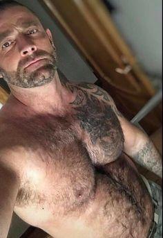 Hairy Men, Bearded Men, Sexy Men, Sexy Guys, Muscle Bear, Sore Eyes, Hollywood Party, Beard Tattoo, Male Form