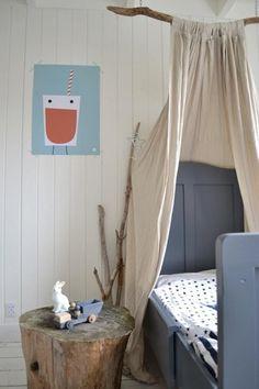 kid's room via Frivole