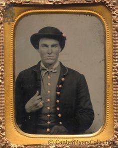 Arthur McCoy, key figure in the James-Younger Gang. Died around 1880.