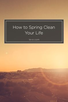 It's time for a fresh start - in every aspect of your life! www.levo.com