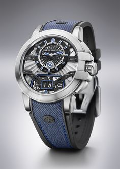 There has not been a lot of action from the watch division of Harry Winston since the Swatch Group acquired the company in 2013. Today, though, Harry Winston debuted the Project Z11 which has a case (42 mm x 10.6 mm) crafted from the company's patent metal alloy Zalium. It is lighter than steel and extremely resistant to corrosion, yet has the appearance of steel basically. The Project Z11 has a skeletonized dial providing a clear view of the mainplate, highlighted by a large date d...