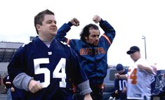 """""""Big Fan"""" movie still, 2009. L to R: Patton Oswalt, Kevin Corrigan. PLOT: A hard-core New York Giants fan (Oswalt) struggles to deal with the consequences when he is beaten up by his favorite player (Jonathan Hamm). Film Watch, Movies To Watch, Kevin Corrigan, Football Movies, Lawrence Taylor, Plot Twist, France, White People, Creative Outlet"""