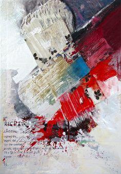 "Saatchi Online Artist Peter Vahlefeld; Mixed Media, ""Auction Cataloque"" #art"