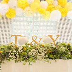 repo☺ウェルカムスペース→挙式 の画像 nico◡̈*blog 手作り結婚式
