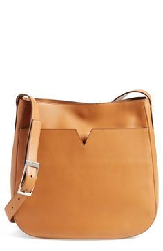 Vince 'Medium' Leather Crossbody Bag available at Leather Crossbody Bag, Leather Handbags, Leather Bags, Crossbody Bags, Tote Bags, Best Bags, Leather Accessories, Evening Bags, Leather Shoulder Bag
