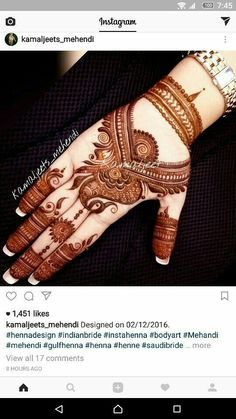 Mehandhi Designs, Hena Designs, Arabic Henna Designs, Modern Mehndi Designs, Mehndi Design Pictures, Unique Mehndi Designs, Henna Designs Easy, Beautiful Mehndi Design, Latest Mehndi Designs