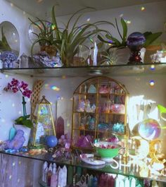 See more of cosmicarchive's content on VSCO. Crystal Room, Crystal Altar, Crystal Magic, Crystal Decor, Witch Aesthetic, Aesthetic Room Decor, Crystals And Gemstones, Stones And Crystals, Crystal Aesthetic