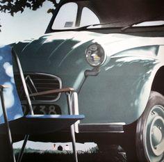 Gérard SCHLOSSER : Grand-mère (Citroën 2CV)