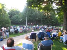 In Sault Ste. Marie, Michigan, the Soo Locks Park fills with music during the summer months. Music in the Park is every Wednesday evening;check the event schedule here!
