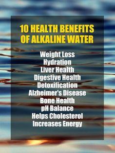 Why Drink ALKALINE WATER ?
