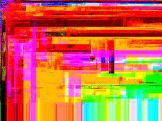 glitch art - Sök på Google