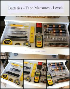 Lookie What I Did: A Well Organized Utility Closet – Garage Organization DIY Coat Closet Organization, Ikea Closet Organizer, Garage Tool Organization, Organization Station, Wardrobe Storage, Organization Ideas, Pax Wardrobe, Storage Ideas, Tool Drawers