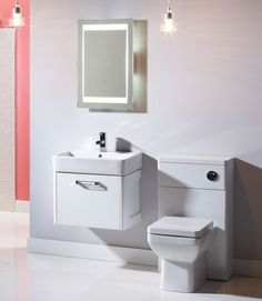 Tavistock Q60 500 Back To Wall Toiilet (White Gloss) - Bathshop321
