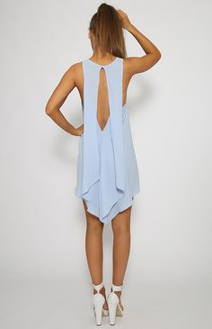 Goldpearl Dress - Blue