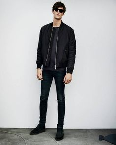 ALL SAINTS: MEN'S LOOKBOOK AUGUST 2015