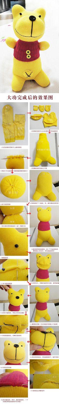 Sock bear tutotial