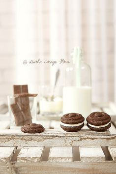 Homemade OREO cookies by csokiparany