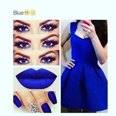 This blue is on point   Follow me on IG @motivated_mrs27
