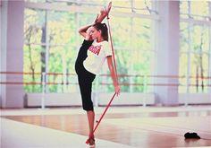 Evgenia KANAEVA (RUS) Training