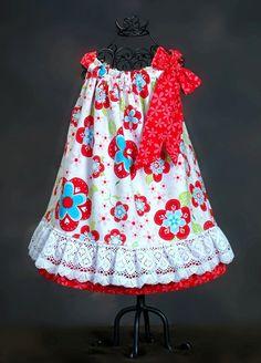 Easy Dress Beginner PDF Sewing Pattern SEW LACY by OlaJanePatterns