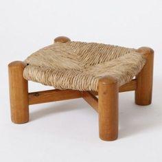 Шарлотта Perriand;  Сосна и пик стул, 1930-е годы.