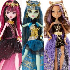 Monster High 13 Wishes Party Dolls are expected to be released on July 2013. But, if its going to be early, youll find them all available here. In...