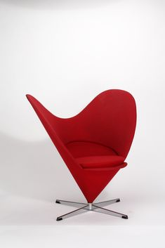 Verner Panton, Heart Cone Chair (1959)