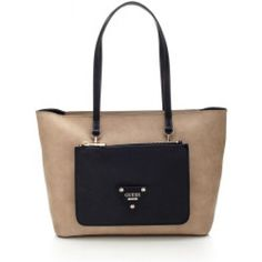 Guess Audrey Tote removable pouch on front Guess Jeans, Pouch, Tote Bag, Bags, Accessories, Fashion, Handbags, Moda, Fashion Styles