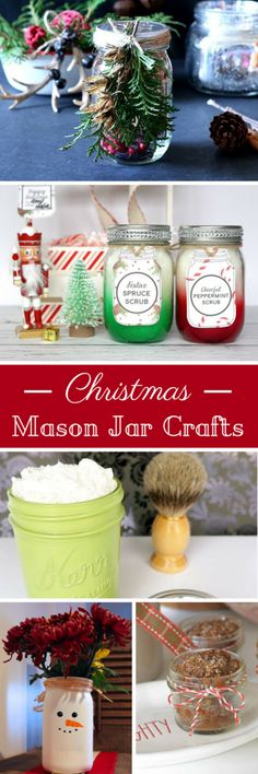 The Perfect Shave in a Jar Creative Ramblings Christmas mason jar crafts. Learn how to make gifts in a mason jar. Cute decor scrub shaving cream and more all in a mason jar. Red Mason Jars, Mason Jar Gifts, Mason Jar Diy, Mason Jar Christmas Crafts, Jar Crafts, Christmas Fun, Homemade Christmas, Holiday Crafts, Holiday Ideas