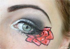 Tuxedo Mask inspired makeup by http://miss-different-89.blogspot.de/2015/11/sailor-moon-blogparade-tuxedo-mask.html