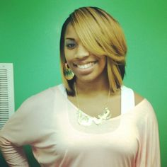 Soft Layered bob love the color too