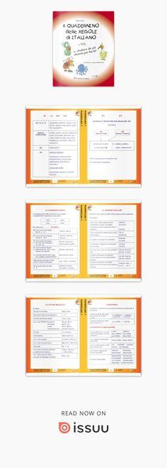 Regole grammaticali per la scuola primaria