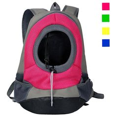 Kathsun Breathable Double Shouder Dog Cat Pet Carrier Backpack Dog Travel Carrier front Head out dog Carrier for Biking, Hiking, Trip, Shopping >>> Learn more by visiting the image link. (This is an affiliate link) Dog Travel Carrier, Cat Backpack Carrier, Dog Carrier Bag, Dog Backpack, Travel Backpack, Mesh Backpack, Sling Backpack, Transport Chat, Biking With Dog