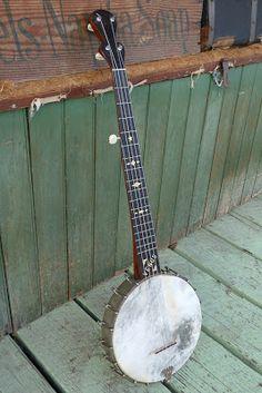 "c.1895 Buckbee-made ""Venus"" 5-String Banjo"