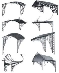forging modern drawing: 3 thousand images found in Yandeks.Kartinki Source by Grill Design, Shed Design, Door Design, Wrought Iron Decor, Wrought Iron Gates, Home Building Design, Home Room Design, Art Nouveau Architecture, Architecture Design