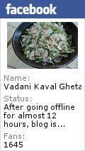 Vadani Kaval Gheta ... (वदनी कवळ घेता - Vegetarian Recipes): Methiche Pithale / Zunaka