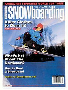 0f9cc45fb15 Noah Brandon TransWorld SNOWboarding November 1991 Transworld Snowboarding