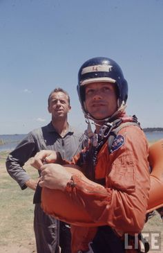 Al and Neil Armstrong