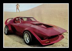 """""""Scorpion"""" Show Car, 1973 / One of these days, George Barris and I are gonna have a LONG talk."""