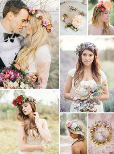 Savannah Wedding Planner: Simply Savannah Events: SIMPLY BRIDAL: Floral Crowns